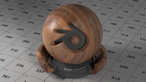 Wood Material Nodes Blender Cycles preview image