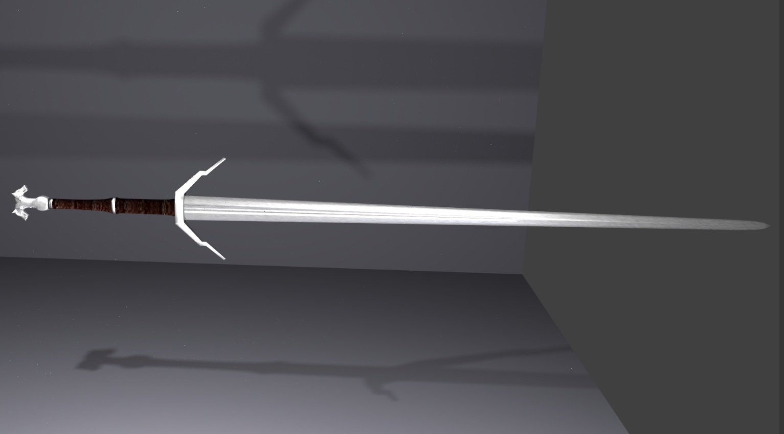 Geralts silver sword preview image 3