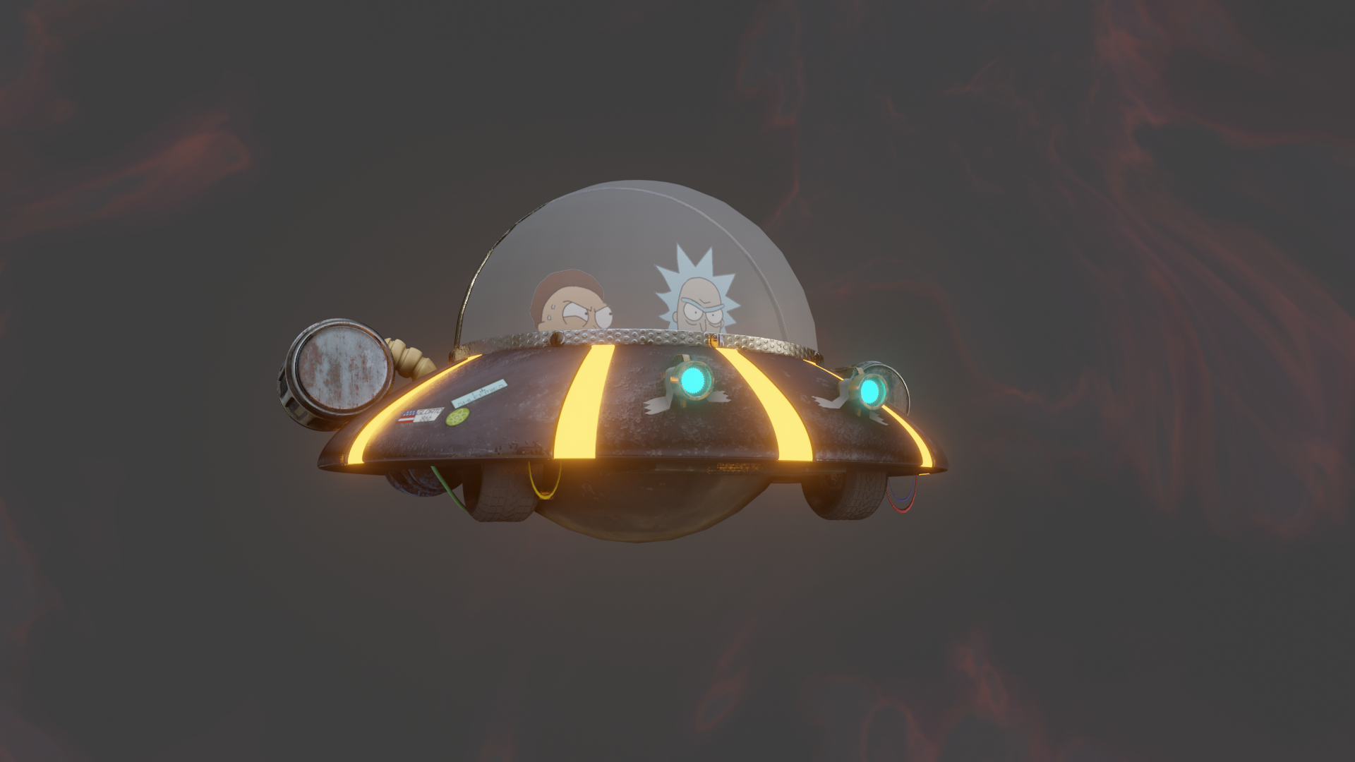 Rick and Morty ship preview image 1