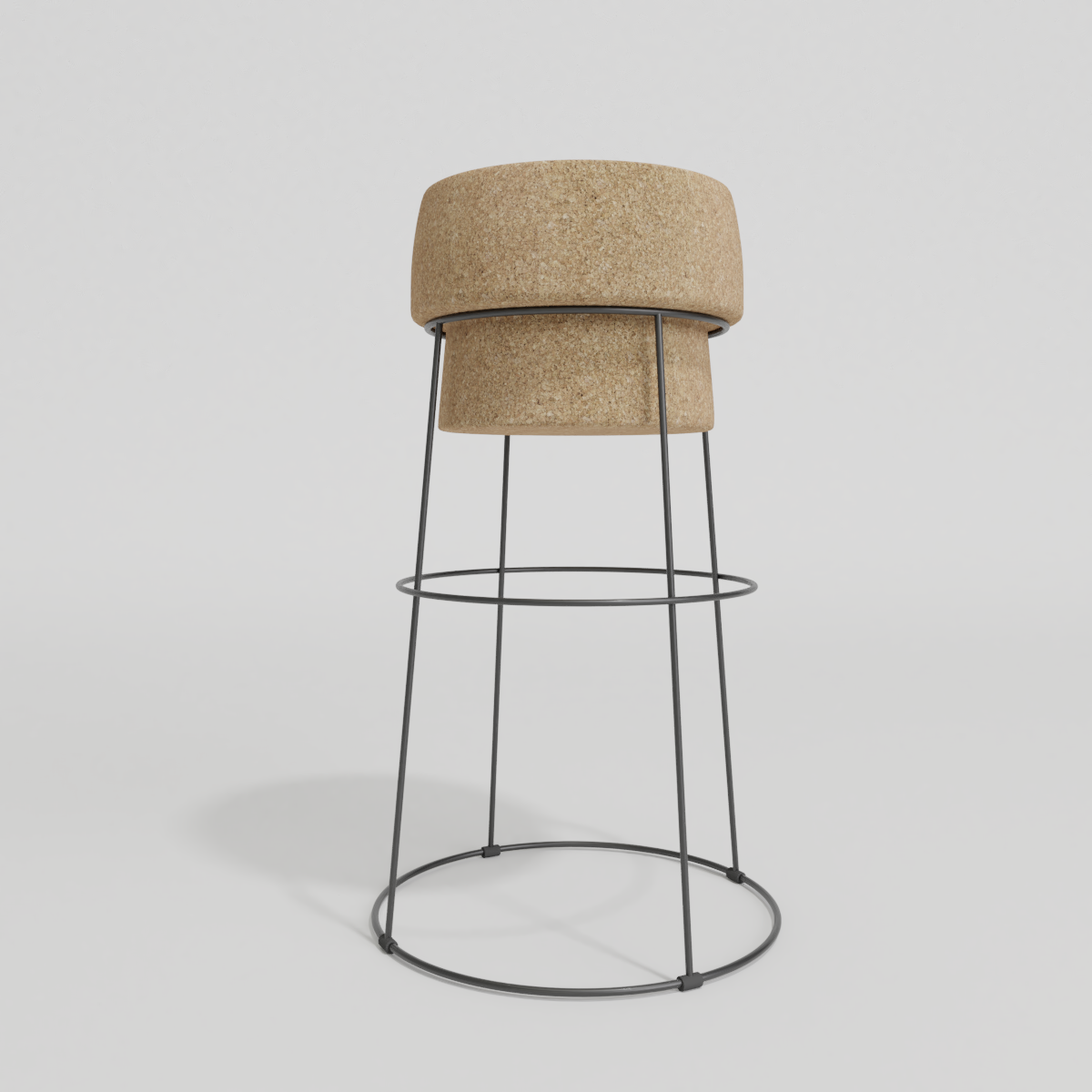 Cork stool preview image 1