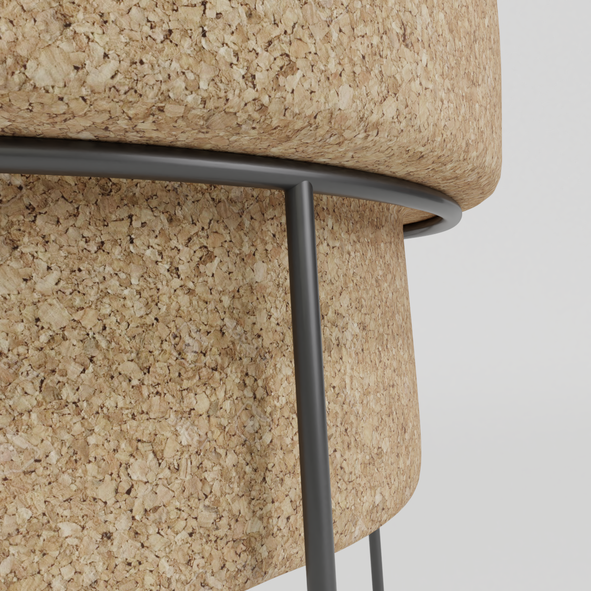 Cork stool preview image 3
