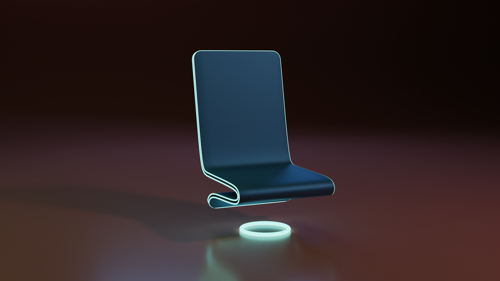 Simple Sci-Fi Chair preview image