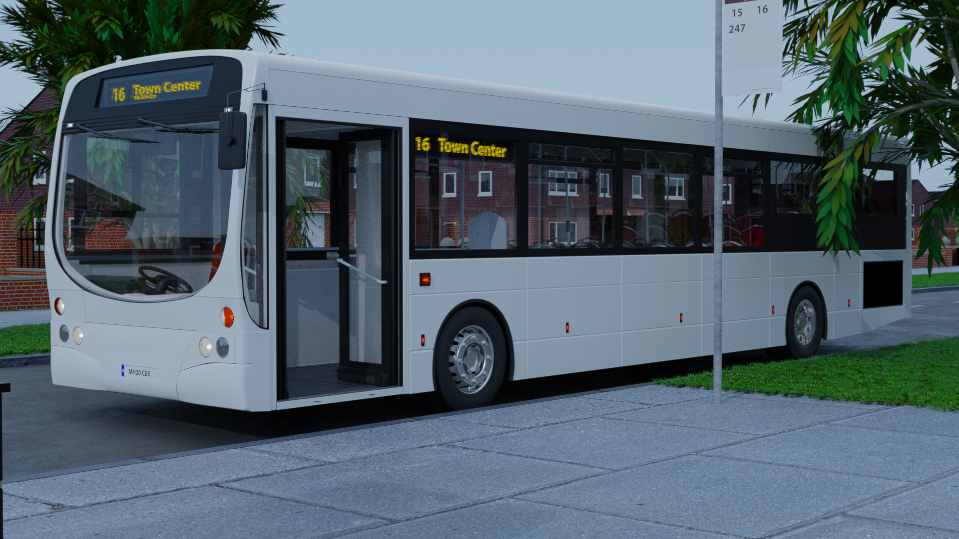 Transit Bus | One Service Door preview image 1