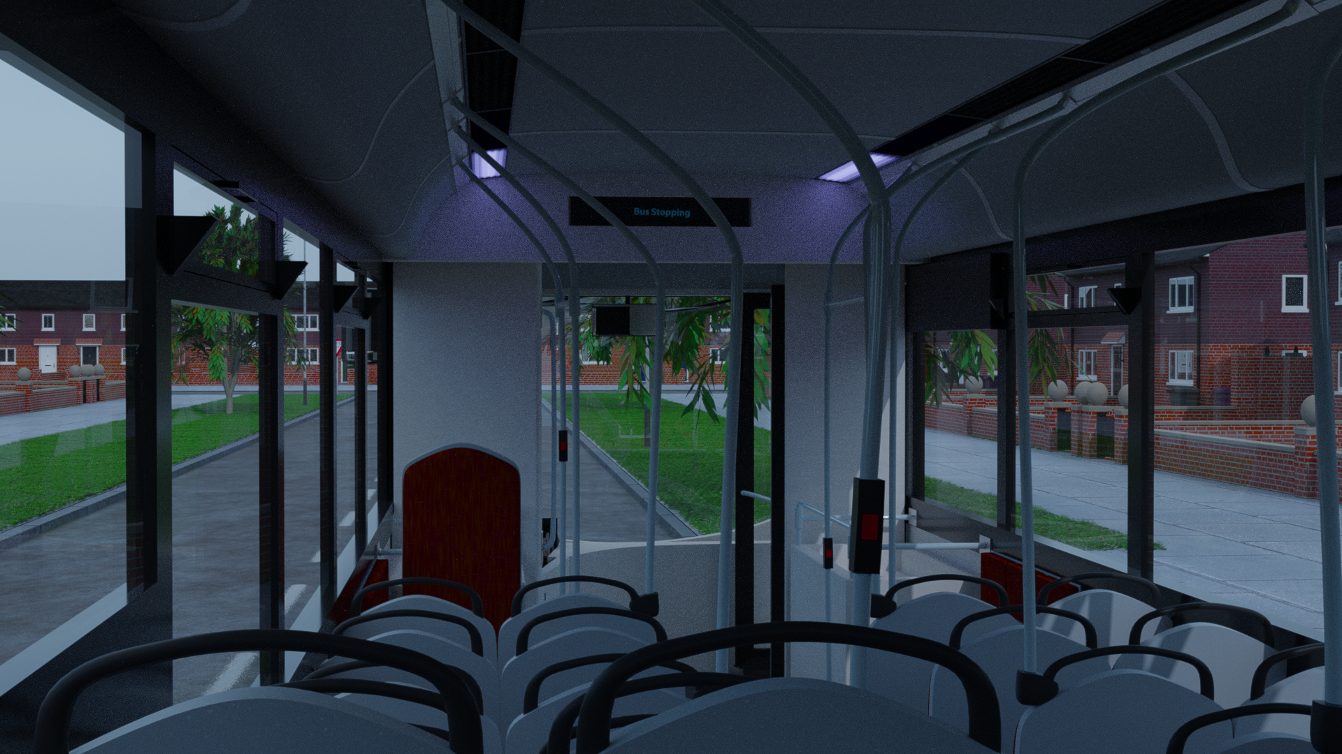 Transit Bus | Two Service Doors preview image 2