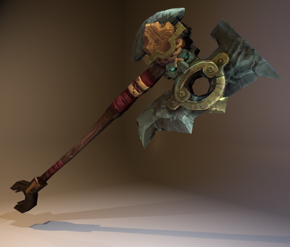 Dwarven Battle Axe preview image 1