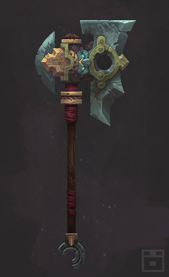 Dwarven Battle Axe preview image 2