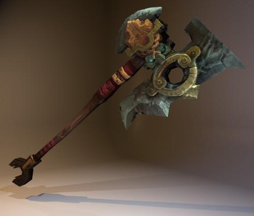 Dwarven Battle Axe preview image