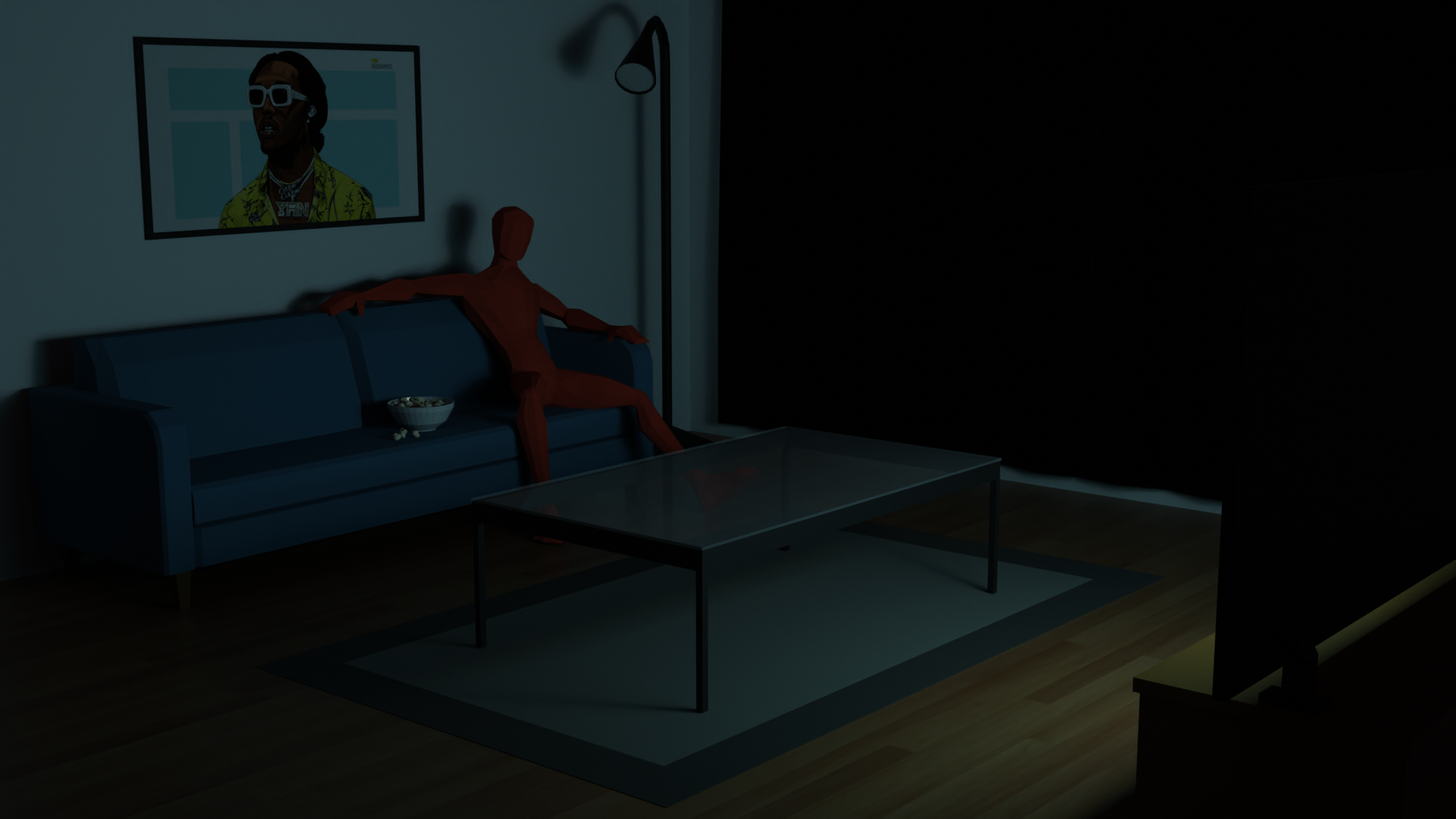 Low Poly Interior preview image 2