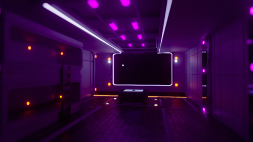 Sci-Fi Bedroom preview image