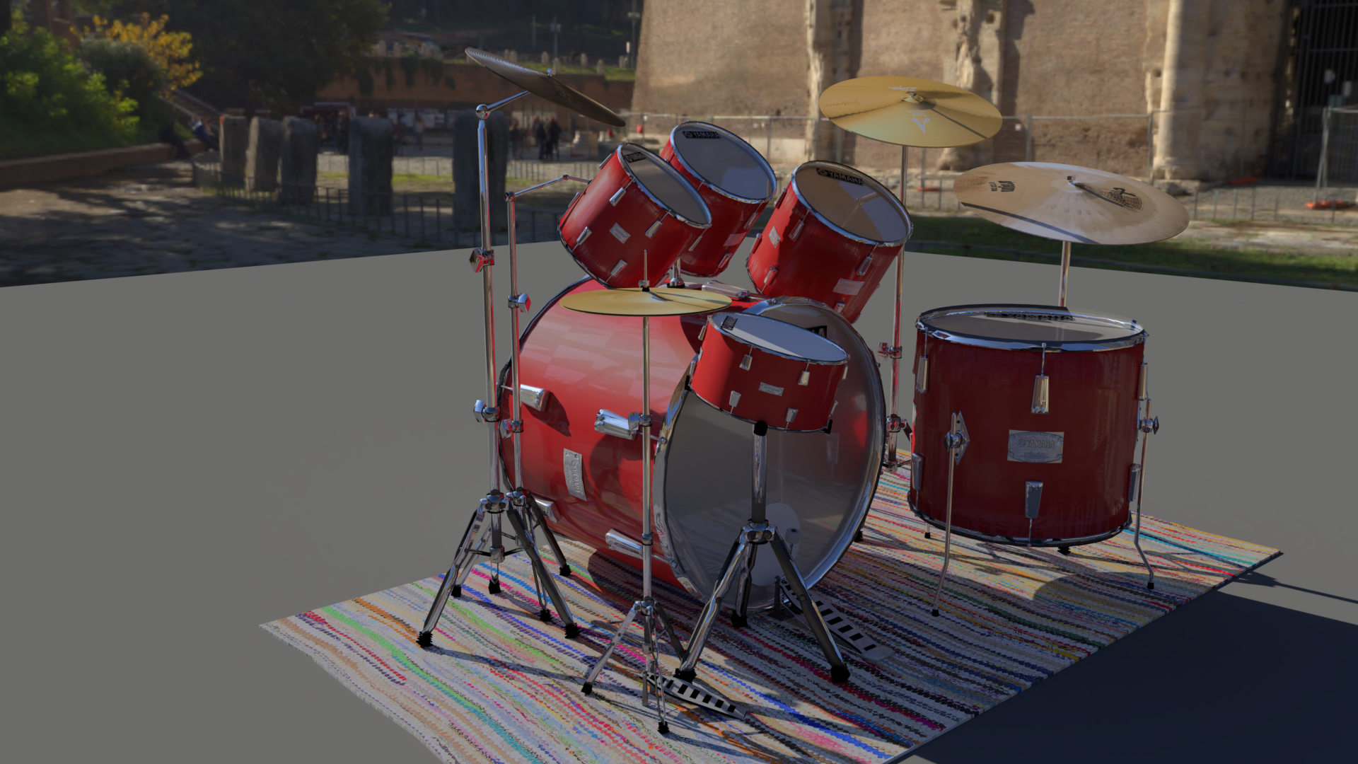 Drum Kit Yamaha preview image 1