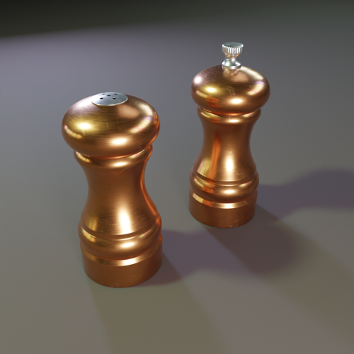 Salt and Pepper Shakers preview image