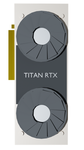 Low Poly Titan RTX preview image