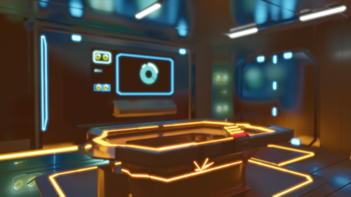 Sci-fi Room preview image