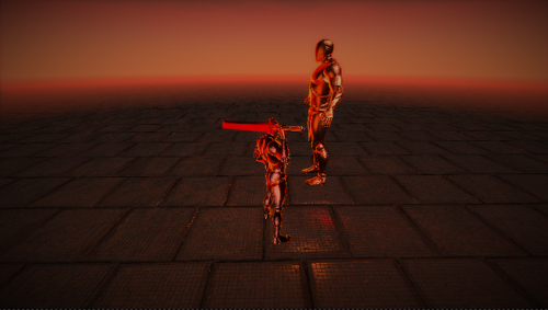 Third Person Sword Game BGE preview image