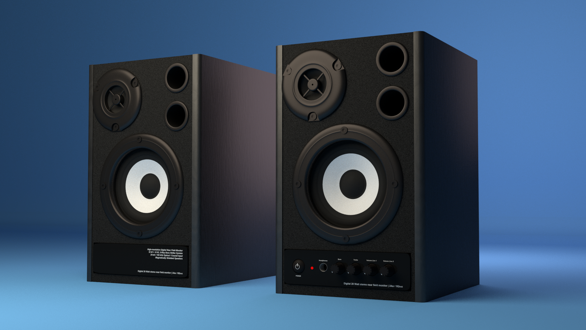 Monitor Speakers preview image 1