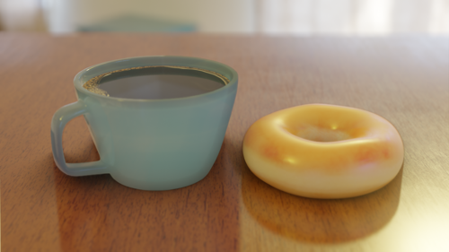 Coffee and Doughnut preview image