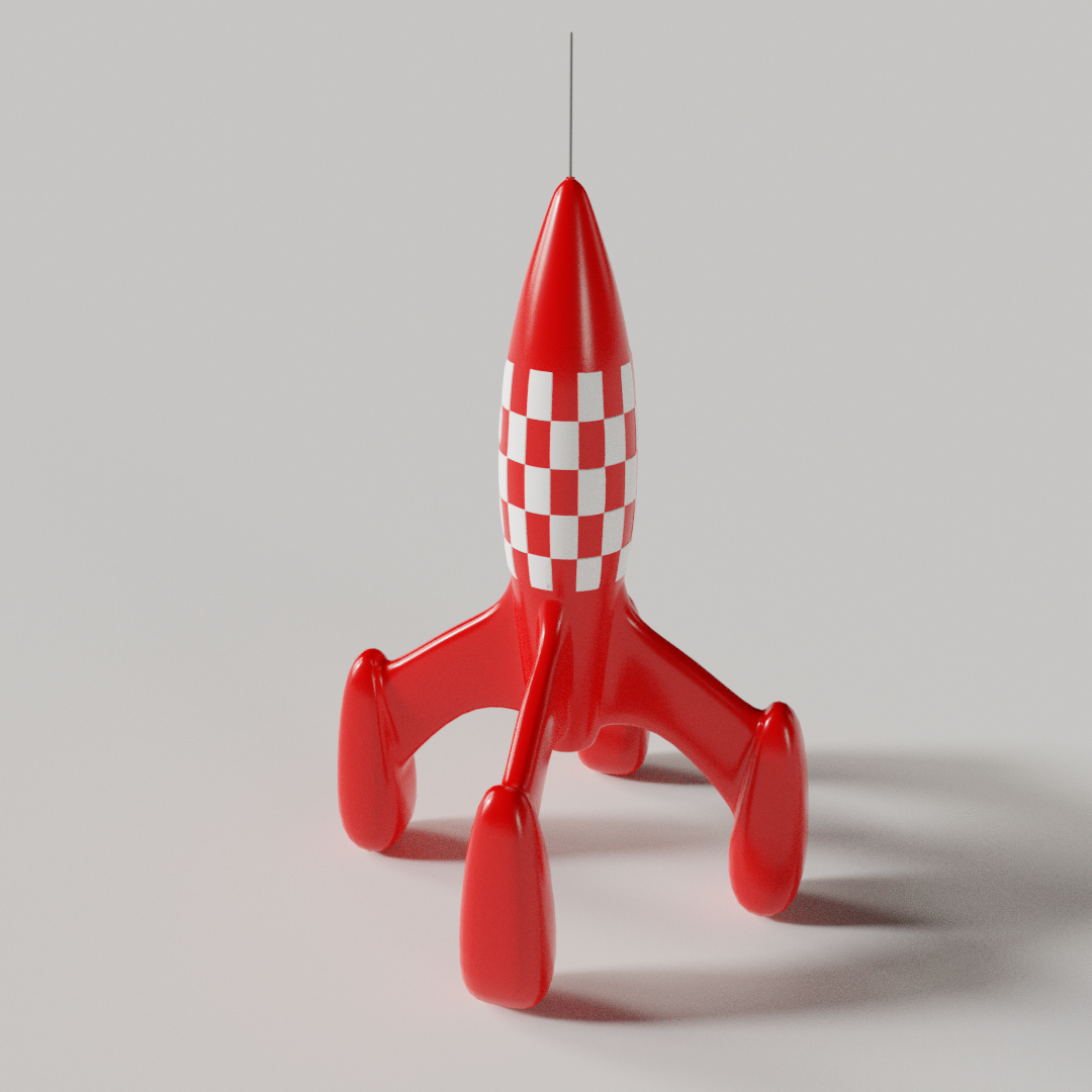 Sky Rocket Ornament preview image 1