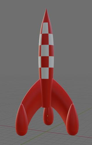 Tintin Rocket preview image