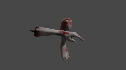 SEVERED APPENDAGES (LOW POLY) preview image