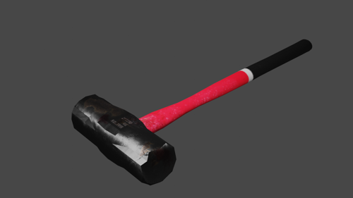 EVIL SLEDGEHAMMER (LOW POLY) preview image