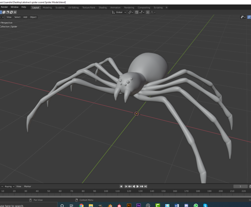 Spider Model  preview image