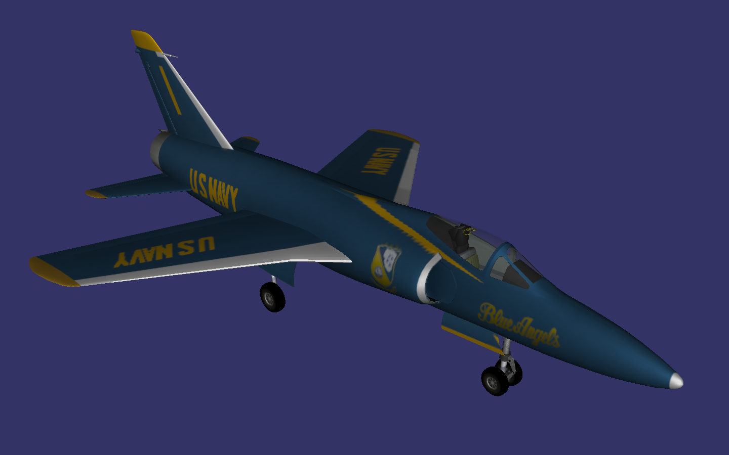 Grumman F11 Tiger preview image 1