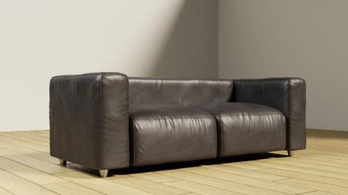 Leather couch preview image