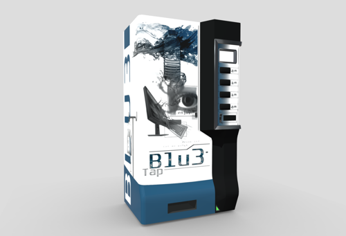 Blue Vending Machine preview image