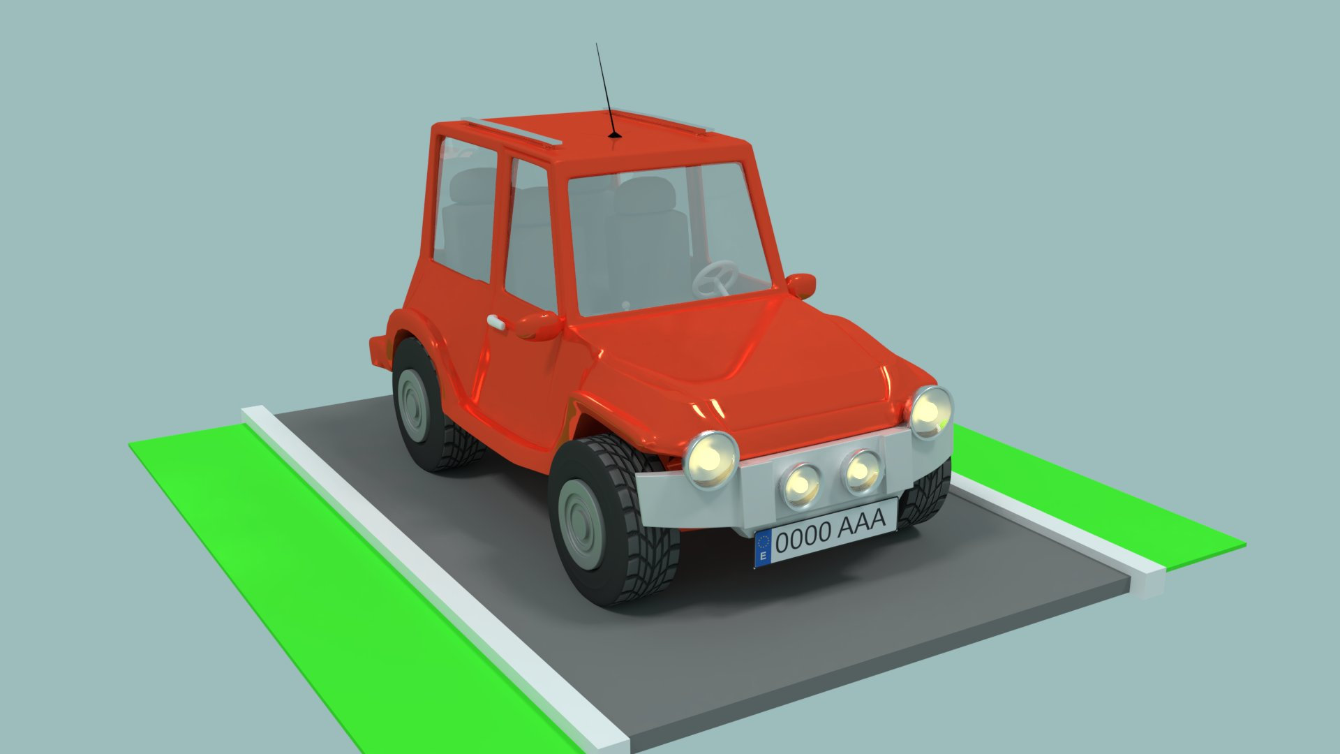 Red Car preview image 1