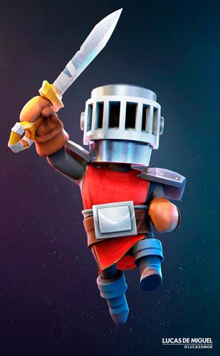 The Cartoon Knight! preview image