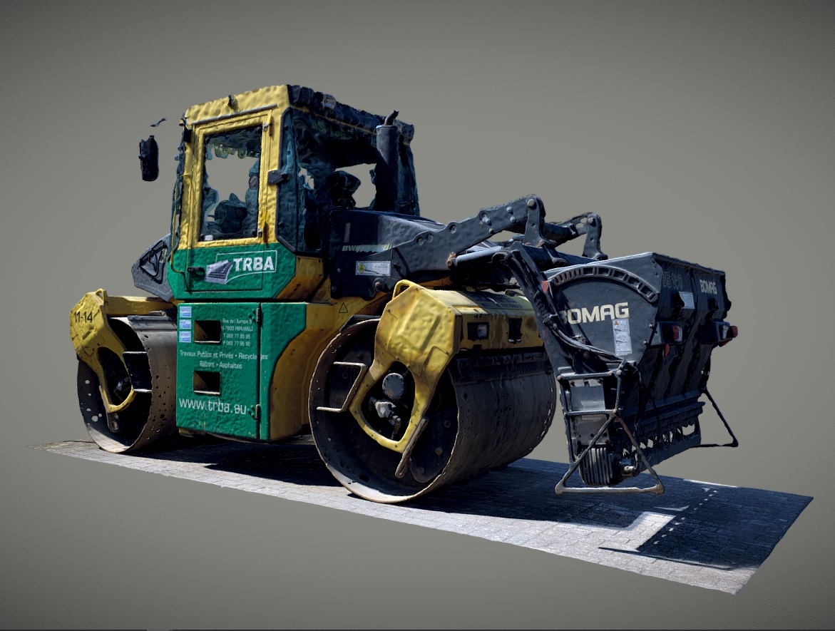 Road Roller - Fork Lifter preview image 1