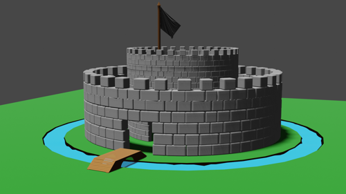 round castle preview image