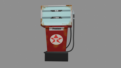 Old Texaco Petrol Dispenser (c1980s) preview image