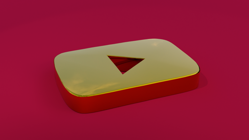 YouTube Golden Play Button / Logo preview image