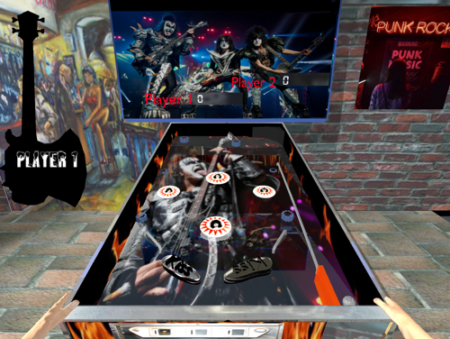 Upbge  2.5b2:  3D Pinball machine game preview image