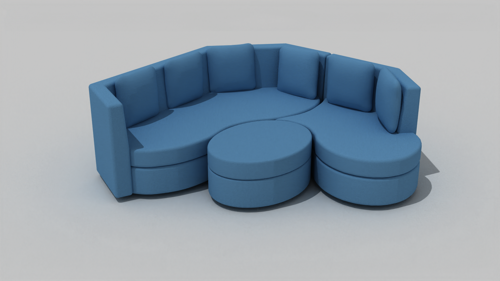 Modular sofa preview image