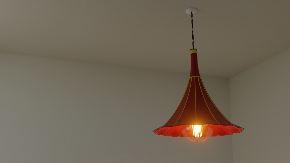 Gramophone Hanging Lamp preview image 1