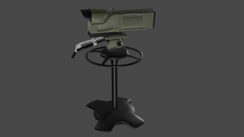 STUDIO CAMERA (LOW-POLY)  preview image