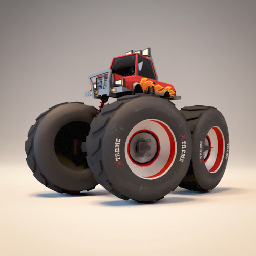 Monstertruck rig preview image