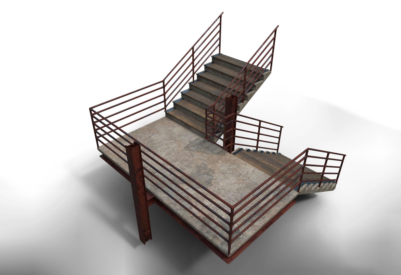 Picture of: Blend Swap Modular Staircase