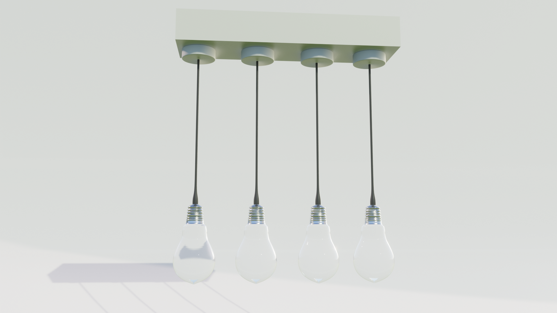 Modern Lamp (photorealistic) preview image 2