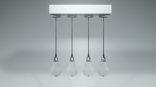 Modern Lamp (photorealistic) preview image