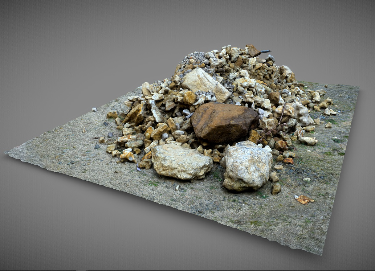 Pile of stone and rock preview image 1