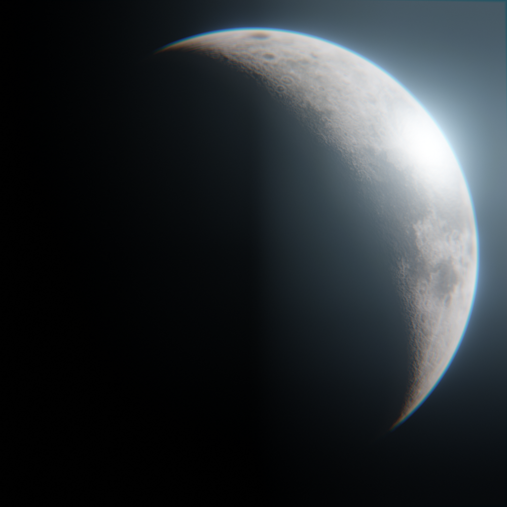 Cinematic Moon preview image 1