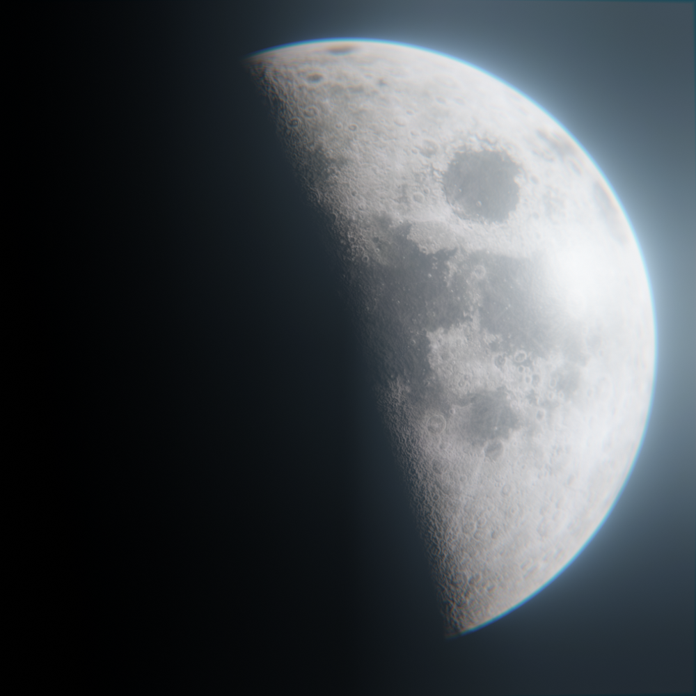 Cinematic Moon preview image 2
