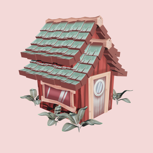 Hand Painted Cabin preview image