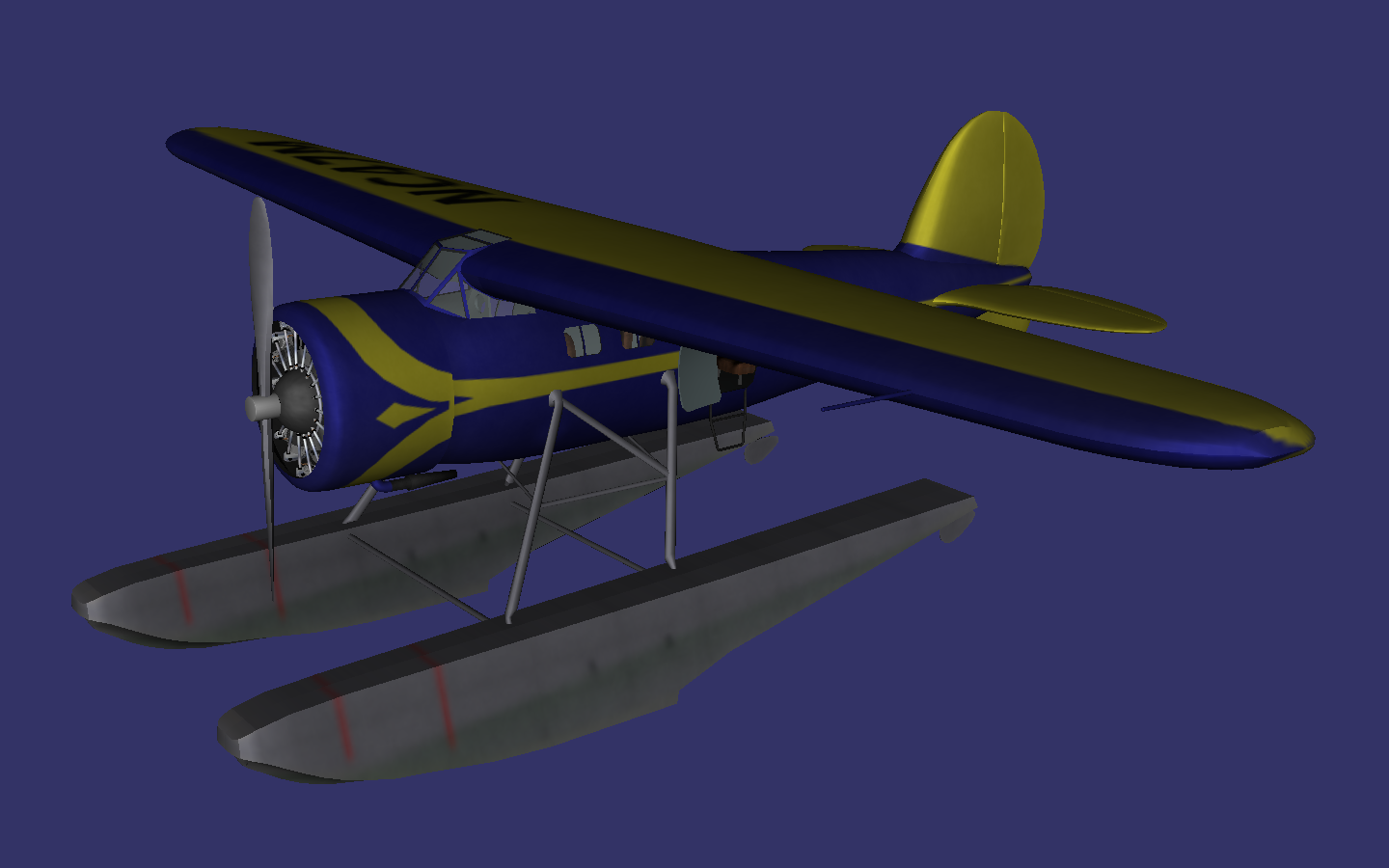 Lockheed Vega with floats preview image 1