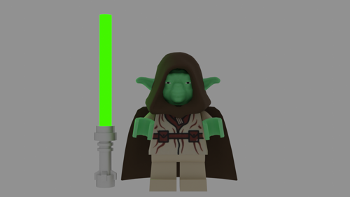 Lego Yoda preview image