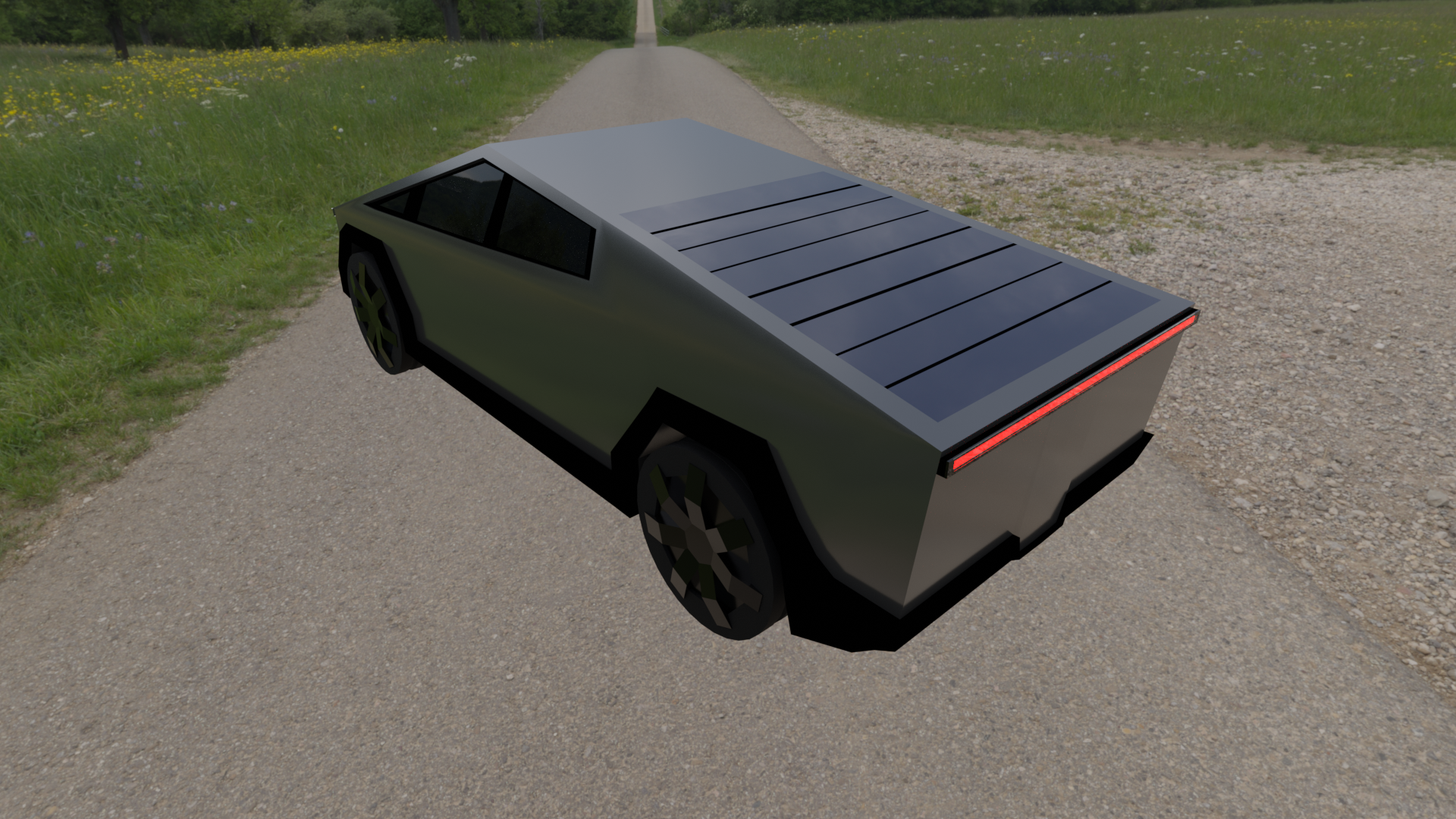 Tesla cybertruck preview image 2
