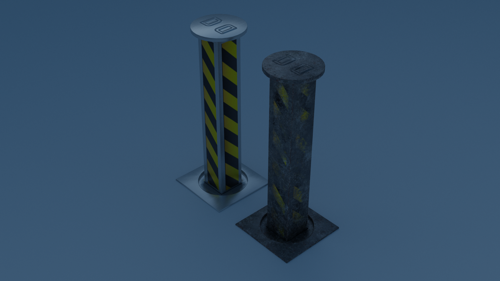 Security bollard preview image